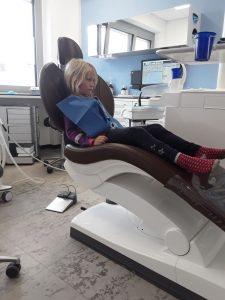 Gretha beim Zahnarzt